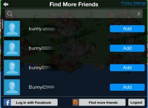 Find More Friends Request