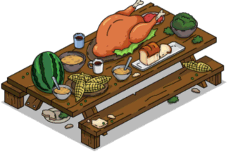 Outdoor Feast Table
