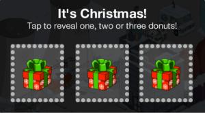 Christmas Bonus Donuts Prize Box 1