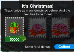 Christmas Bonus Donuts Prize Box 2