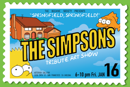 Simpsons Art Show 2015