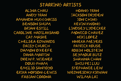 Simpsons Art Show Artists 2015