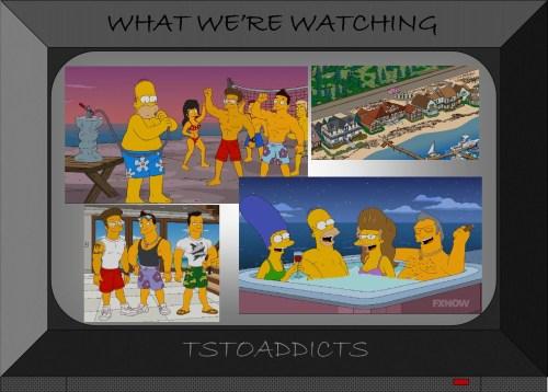 Jersey Shore Simpsons