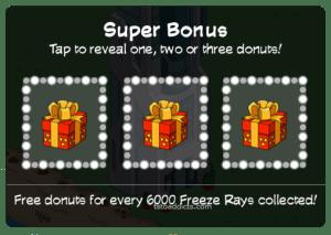 Super Bonus 3 Donut Boxes