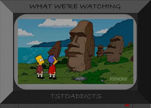 Easter Island Maoi Simpsons 4