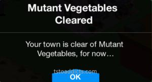 Mutan Vegetables Cleared