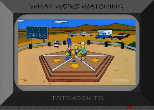 Five Corners Simpsons TSTO