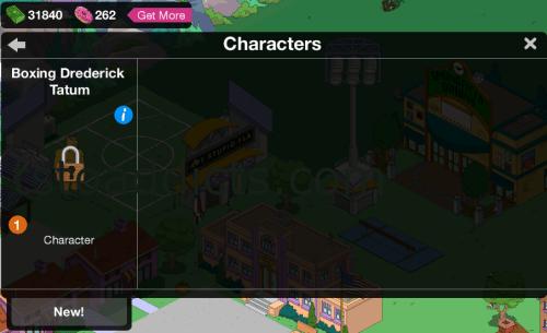 Character Inventory Screen Boxing Drederick Tatum