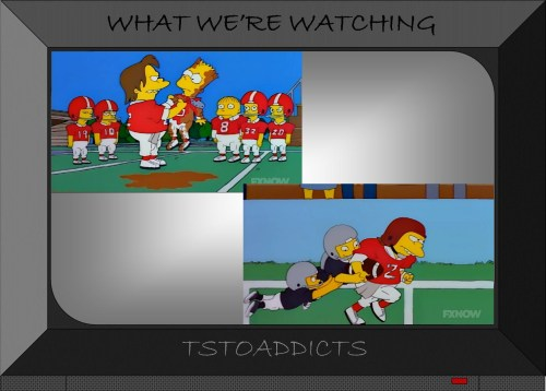 Football Nelson Simpsons 3