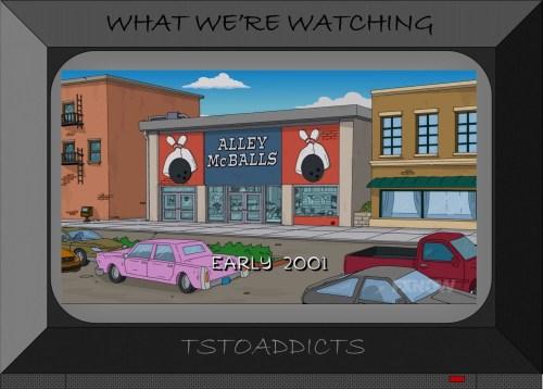 Alley McBalls Simpsons