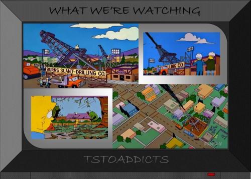 Burns Slant-Drilling Co Simpsons