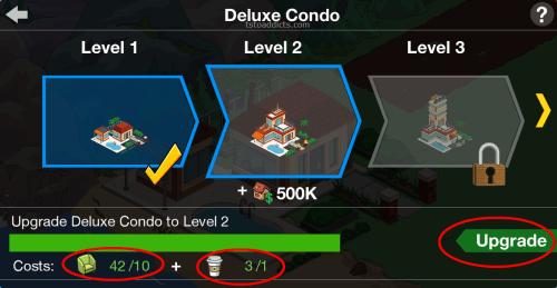Deluxe Condo Level Upgrade