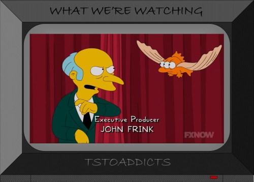 Flying Blinky Simpsons