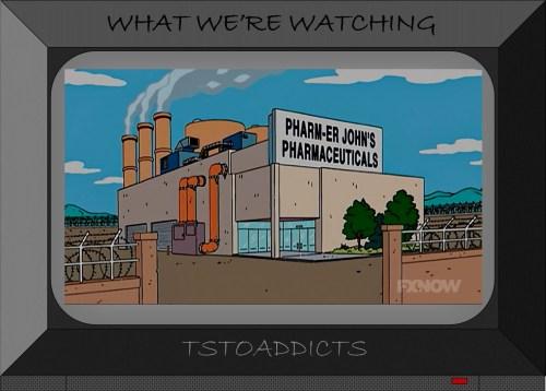 Pharm-Er John's Pharmaceuticals Simpsons