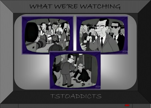 President Richard Milhous Nixon Whacking Day Simpsons
