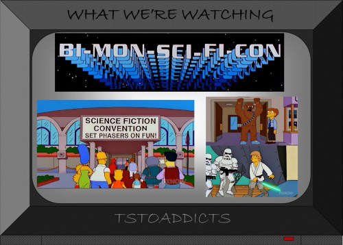Bi-Mon-Sci-Fi-Con Simpsons