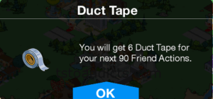 Duct Tape Neighbor Actions