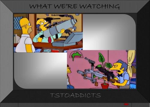 Guns Simpsons