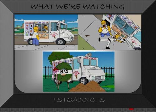 Max's Ice Cream Truck Simpsons