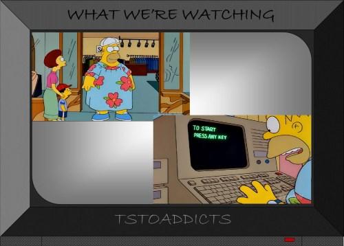 Fat Muumuu Homer Simpson to start press any key computer