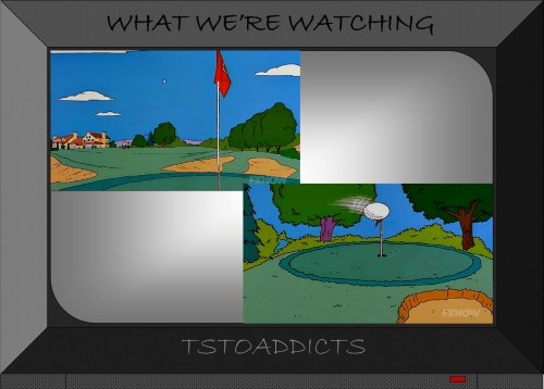 Golf Course Greens Simpsons