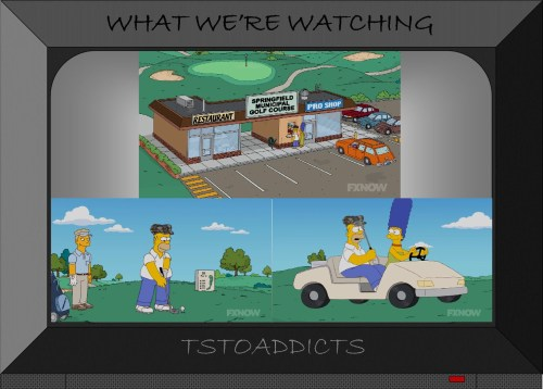 Golf Simpsons 7