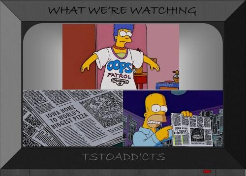 Oops Patrol Secret Message from Mona Simpsons