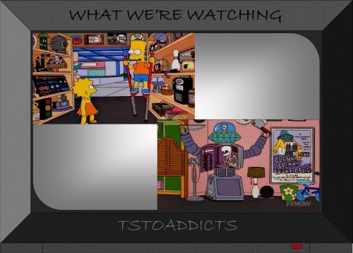 Pogo Stilts & Clank Clank You're Dead Robot Cockamamie's Simpsons