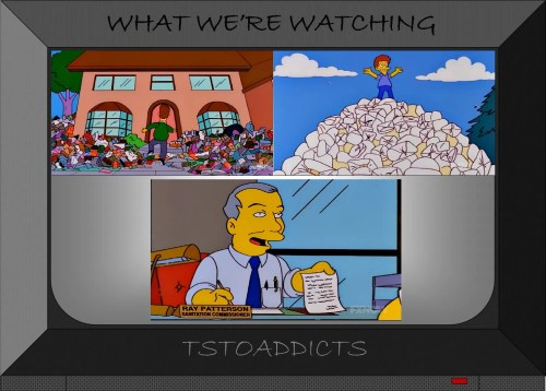 Simpsons Trashed House Diaper Hill Ray Patterson