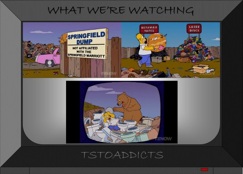 Springfield Dump Bear Simpsons