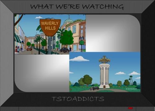 Waverly Hills Column Mansion Simpsons