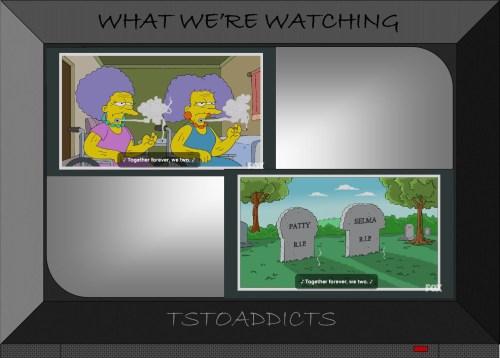 Future Patty and Selma Puffless Simpsons Season 27 Episode 3