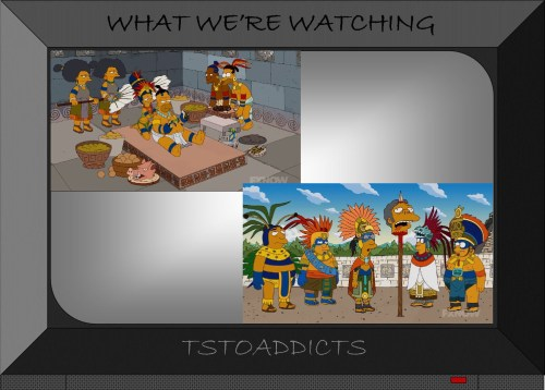 Mayan Simpsons