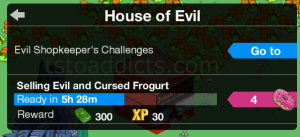 Shopkeeper Challenge House of Evil with