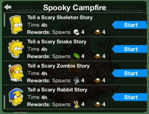 Spooky Campfire Tell A Story List