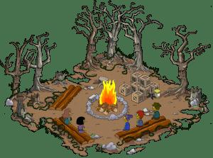Spooky Campfire