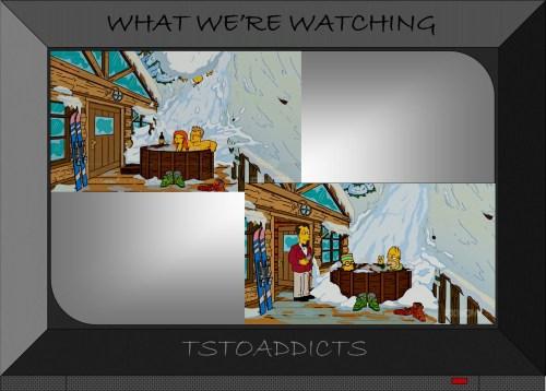Springfield Heights Classic Hot Tub Aspen Ski Lodge Simpsons