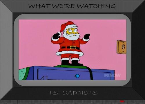 Dancing Santa Decoration Simpsons