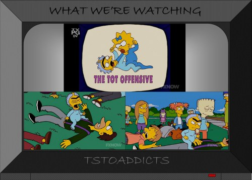 Baby Gerald and Maggie Tot Offensive Simpsons