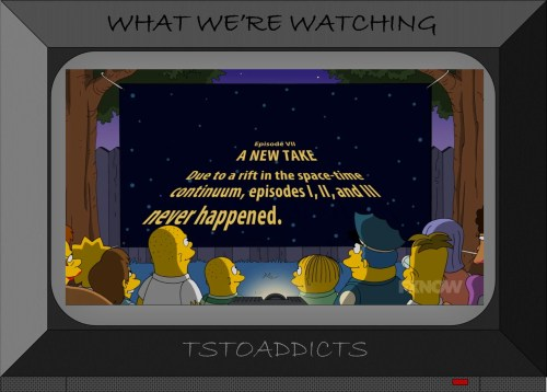 Cosmic Wars Episode VII A New Take Simpsons