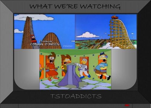 Duff Gardens Whiplash & Washing Machine Simpsons