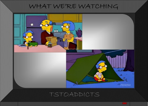 Green Tent Simpsons 2