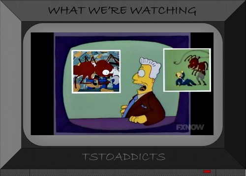 I for one welcome our new insect overlords Simpsons