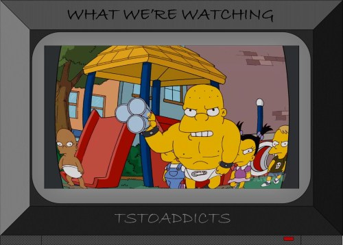 Kearney's Other Son Warriors Simpsons