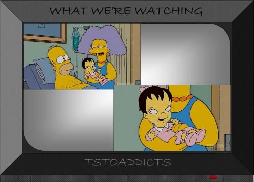 Ling Bouvier Simpsons