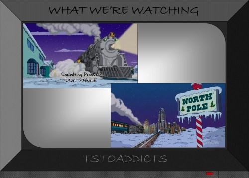 Polar Express North Pole Simpsons