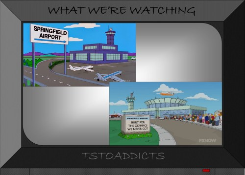 Springfield Airport Simpsons