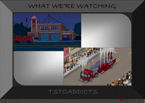Springfield Volunteer Fire Department Simpsons
