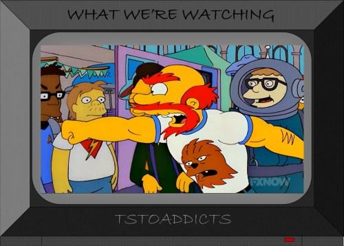 Willie Chewbacca Shirt Simpsons