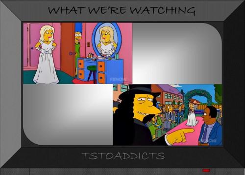 Becky & Otto's Wedding Simpsons